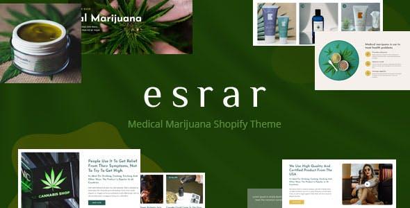 Esrar - Medical Cannabis Shopify Theme