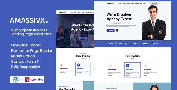 Amassivx – Multipurpose Business WordPress Theme - Business Corporate