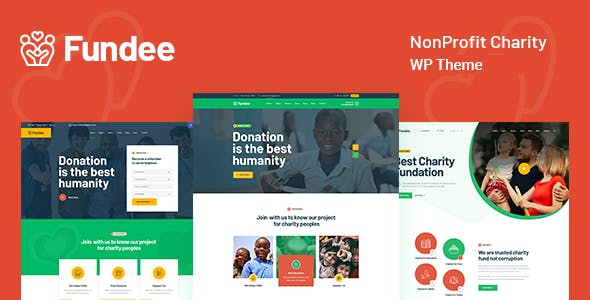 Fundee - NonProfit Charity WordPress Theme