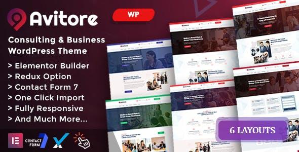 Avitore - Consulting Business WordPress