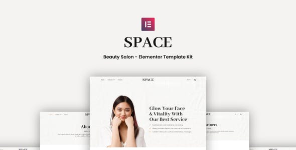Space - Beauty Salon Elementor Template Kit