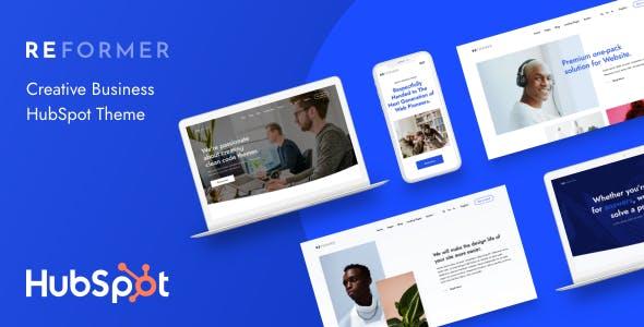 Reformer - Creative Business HubSpot Theme