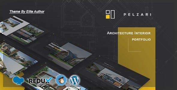 Pelzari - Architecture Interior Portfolio WordPress Theme