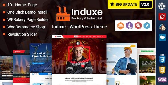 Induxe - Industry & Factory WordPress