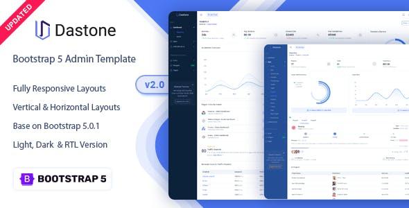 Dastone - Admin & Dashboard Template