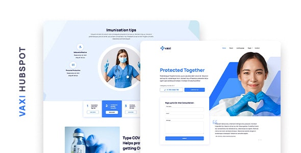 Vaxi – COVID Vaccination and Medical HubSpot Theme - Miscellaneous HubSpot CMS