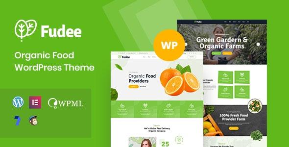 Fudee - Organic Food WordPress Theme - Food Retail