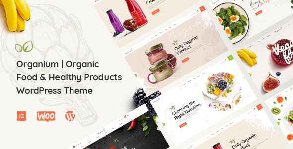 Organium | Organic Food Products WordPress Theme - Food Retail