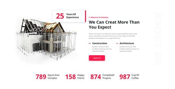 Archcode - Architect Design WordPress Theme