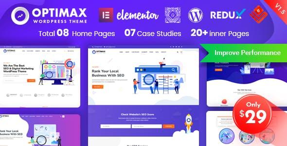 Optimax - SEO & Marketing WordPress Theme