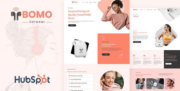 Bomo - Single Product HubSpot Theme - Technology HubSpot CMS Hub