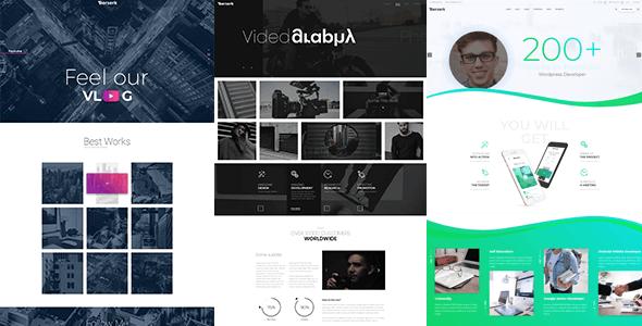 Berserk - Business Portfolio Blog Corporate eCommerce Shop WordPress theme