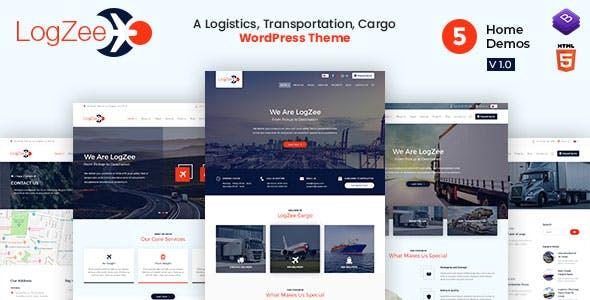 Logzee | Logistics, Transportation, Cargo WordPress Theme