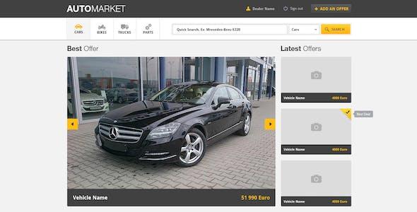AutoMarket - Vehicle Marketplace
