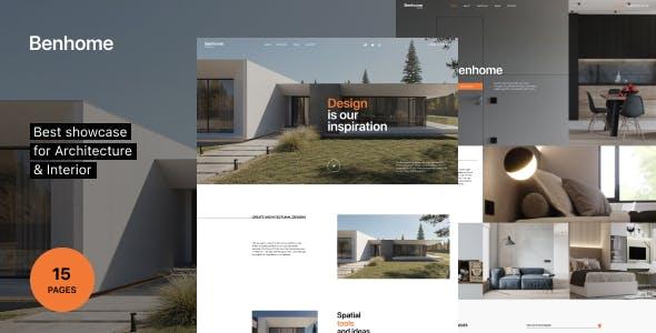 Benhome - Architecture & Interior HTML Template