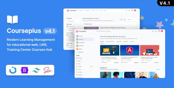 CoursePlus - Modern Learning Management HTML template