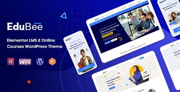 EduBee - LMS Online Education Theme - Education WordPress