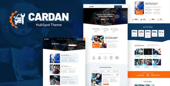Cardan - Hubspot Theme - Miscellaneous HubSpot CMS Hub