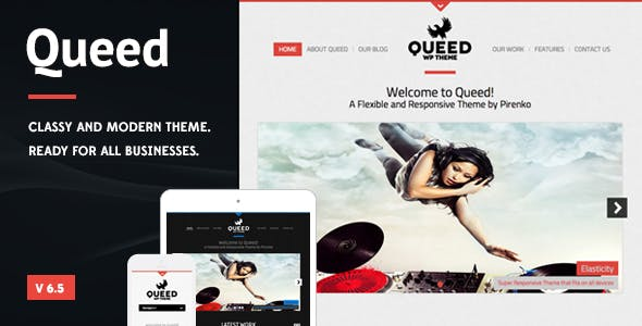 Queed - Business WordPress Theme