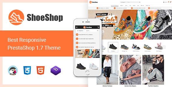 ShoeShop - Best Responsive Prestashop 1.7 Theme