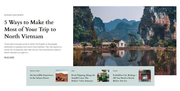 Nomady - Magazine Theme for Digital Nomads