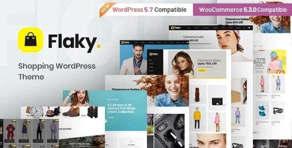 Flaky - An eCommerce Theme - WooCommerce eCommerce