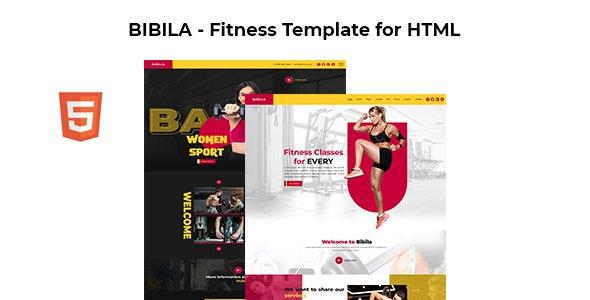 Bibila - Fitness Template for HTML - Health & Beauty Retail