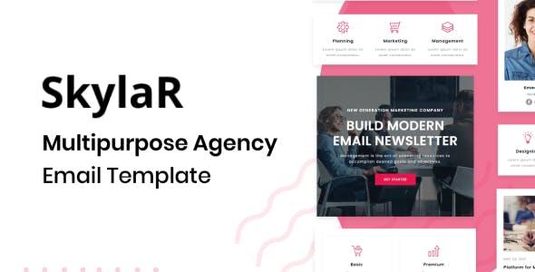 Skylar - Agency Multipurpose Responsive Brand Email Template