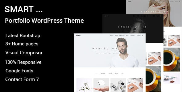 Smart - Minimal Portfolio WordPress Theme - Portfolio Creative