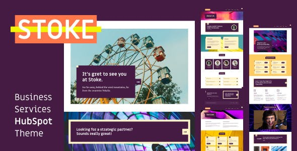 Stoke - Business Services HubSpot Theme