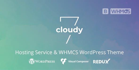 Cloudy 7 - Hosting Service & WHMCS WordPress Theme