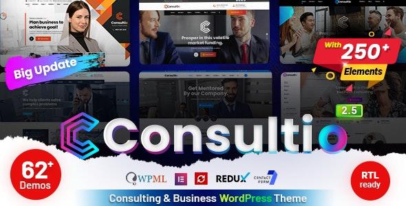 Consultio - Consulting Corporate - Business Corporate