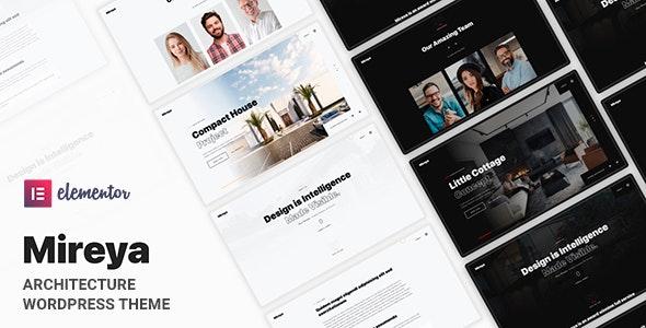 Mireya - Architecture Portfolio Theme - Portfolio Creative