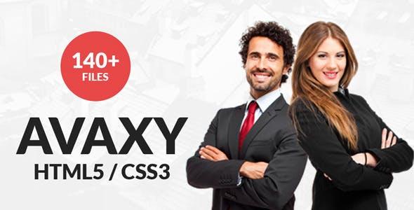 Avaxy - Responsive Multipurpose WordPress Theme