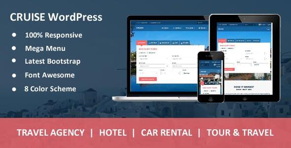 Cruise - Responsive Travel Agency WordPress Theme