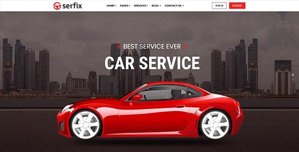 Serfix -  Bootstrap 4 HTML Template