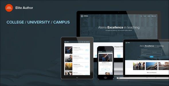 ATENA - College, University and Campus WordPress Theme
