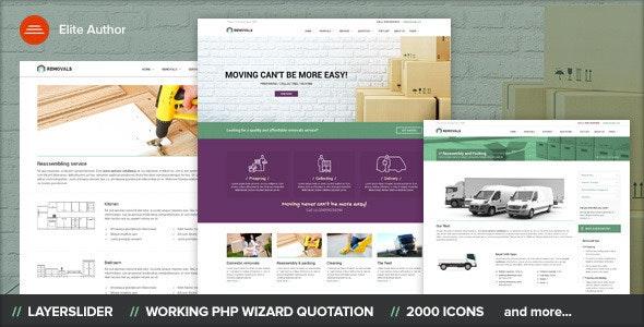 REMOVALS - Moving WordPress Theme - Corporate WordPress
