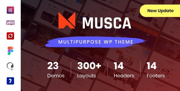 Musca - Multipurpose WordPress theme - Business Corporate