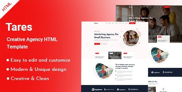 Tares-Creative-Agency-HTML-Template
