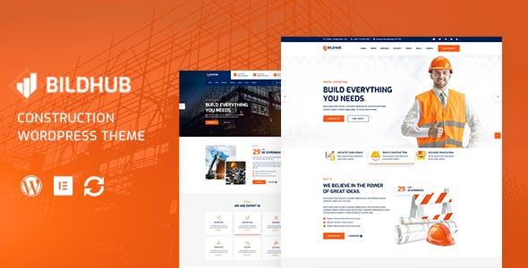 Bildhub - Construction & Building WordPress