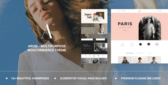 Arum - Multipurpose WooCommerce Theme - WooCommerce eCommerce