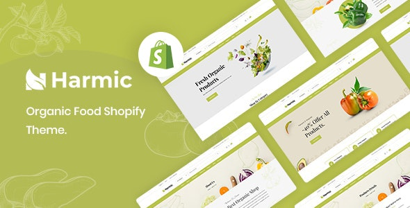 Harmic – Organic Food Shopify Theme - Health & Beauty Shopify