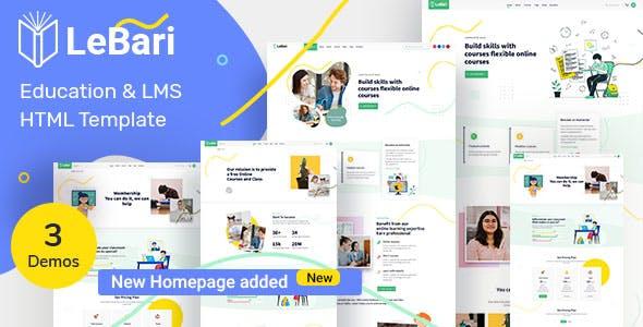 Lebari - Education HTML Template