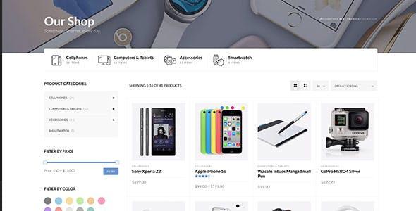 Woodstock - Electronics Store WooCommerce Theme