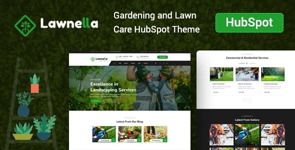 Lawnella - Gardening & Landscaping HubSpot Theme - Corporate HubSpot CMS Hub