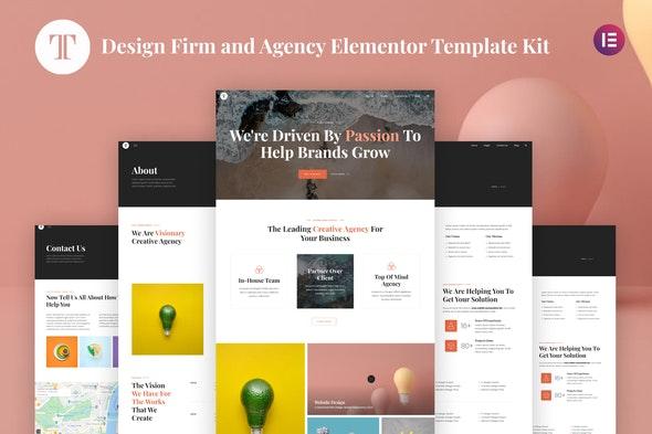 Terrano - Design Firm & Agency Elementor Template Kit - Creative & Design Elementor