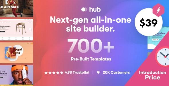 Hub - Responsive Multi-Purpose WordPress Theme - Creative WordPress