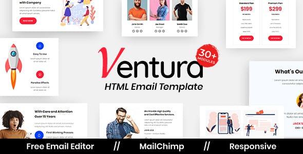 Ventura Agency - Multipurpose Responsive Email Template