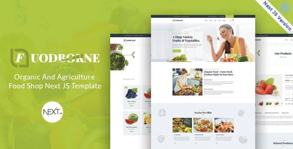 Fuodborne - Organic & Agriculture Food Shop Next JS Template